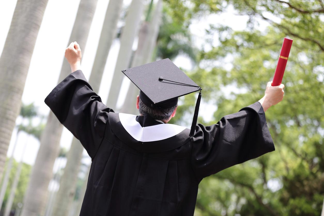 graduation time student success Montclair State University Online MBA